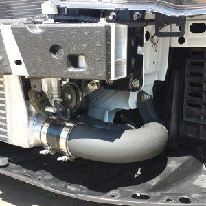 Evo X Lower intercooler pipe