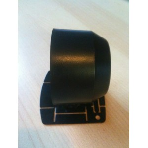 52mm Digital Tachometer Gauge White / Amber