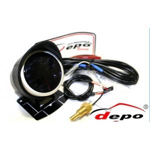 52mm PSI Digital Fuel Pressure Gauge White / Amber