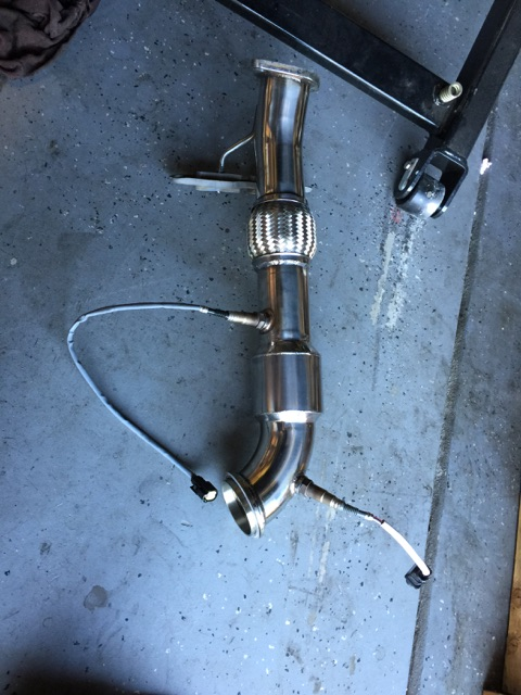 "2012+ Ford Focus ST 3"" Downpipe Catless Testpipe"